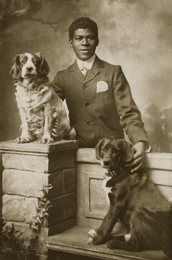 Interesting Old Photographs Of Dogs And Their Owners