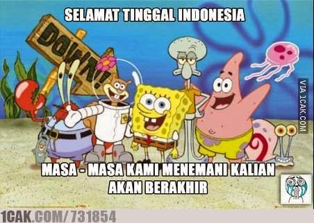 SenadaNews: Kumpulan Meme Spongebob dan KPI