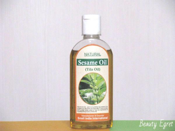 Индийское кунжутное масло Sesame Oil, Smell India International