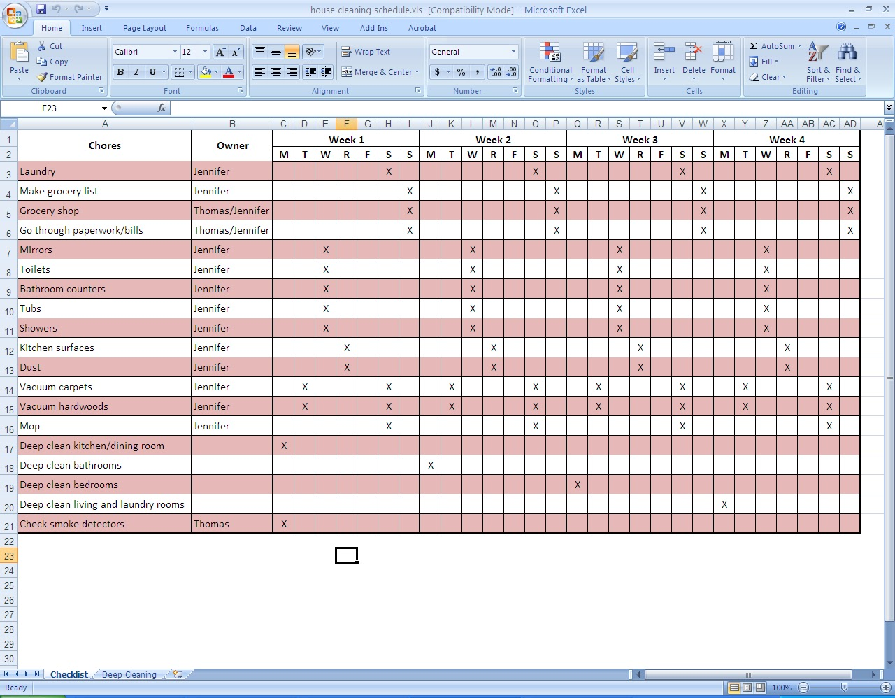 building maintenance schedule template koni polycode co