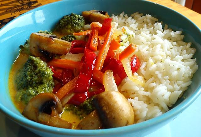 Curry Vietnamita de verduras