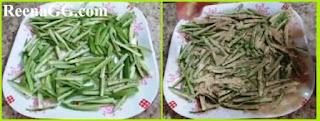 Besni Bhindi Recipe step 1