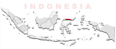 image: Gorontalo Map location
