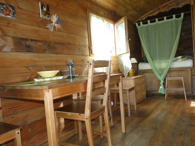 Casa mobile in legno il salotto