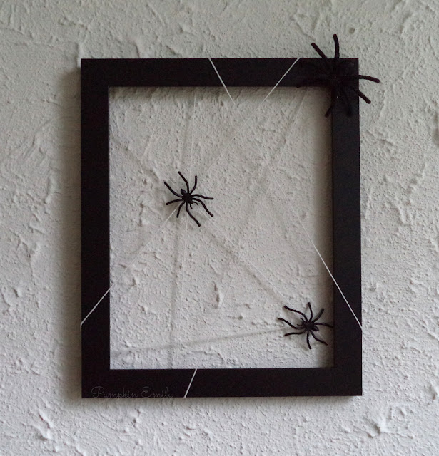 DIY Spider Web Frame How To Make a Spider Web Frame