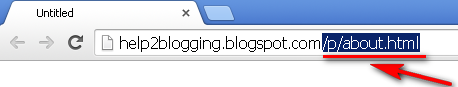 Creating Blogger Static Home Page