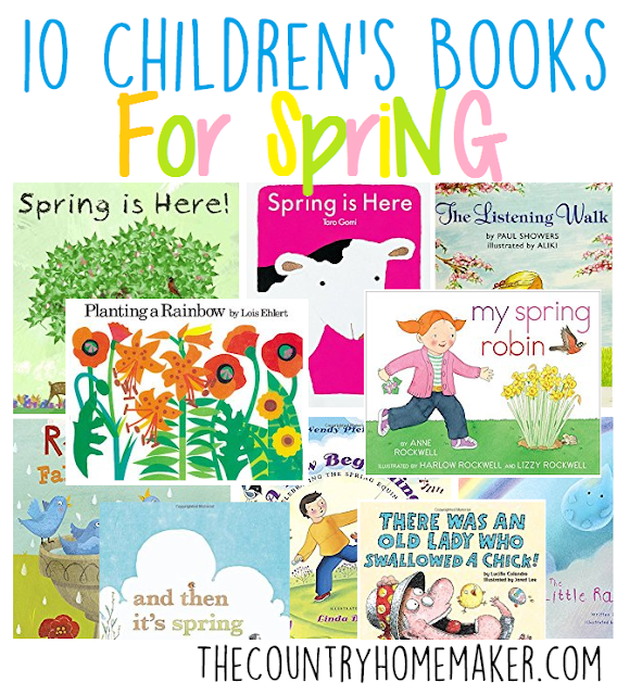 Spring childrens books