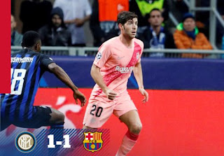 Inter Milan vs Barcelona 1-1 Video Gol & Match Highlights