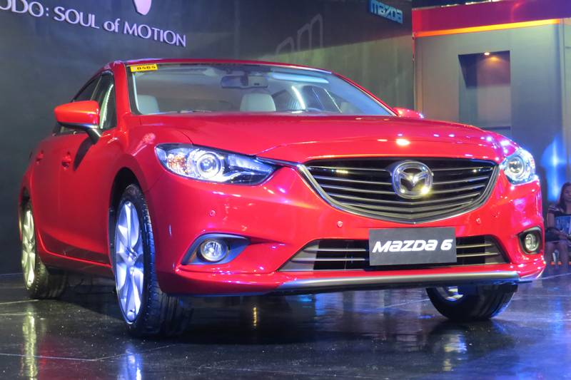 The Globally Acclaimed New Mazda6 Makes Its Philippines Debut At The 2013  Manila International Motor Show, Following An Exclusive Reveal To The Press  The ...