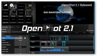 تنزيل وتحميل برنامج عمل مونتاج عربى والتعديل على الفيديوهات للكمبيوتر OpenShot Video Editor 2017