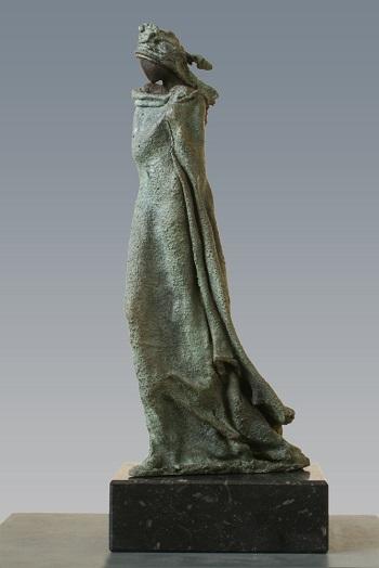"Kieta Nuij - ""Deirdre"" | imagenes de obras de arte contemporaneo tristes, esculturas bellas chidas | figurative art, sculptures | kunst"