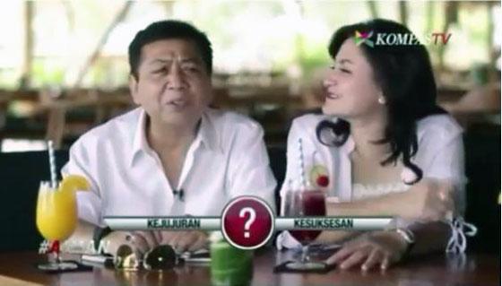 Video Setya Novanto Saat di Tanya Pilih Kejujuran Atau Kesuksesan