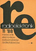 Okładka Radioelektronik 11'88