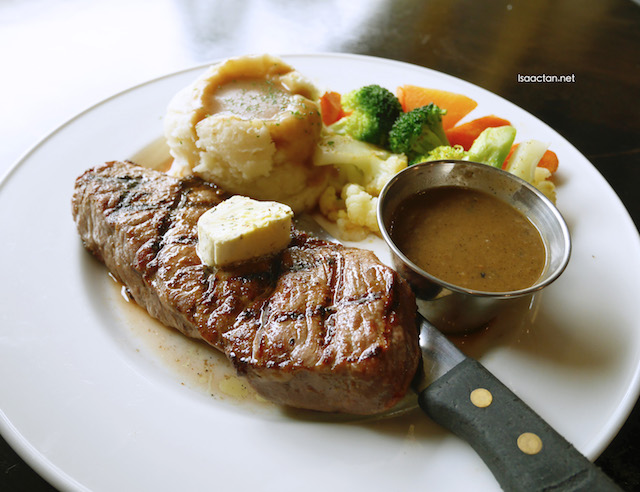 Tried this awesome New York Strip Steak the other day at Hard Rock Cafe Kuala Lumpur
