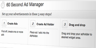 60 second Ad Manager