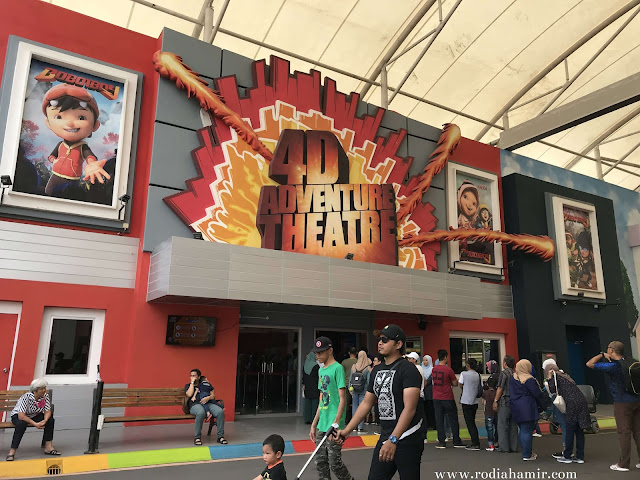 Boboiboy 4D Adventure Theatre MAPS