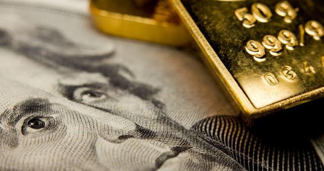 El oro sube tras caída del dólar y reunión de la FED
