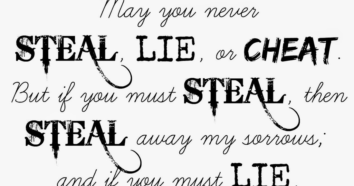 Craft A Spell: May You Never Steal, Lie, or Cheat Free