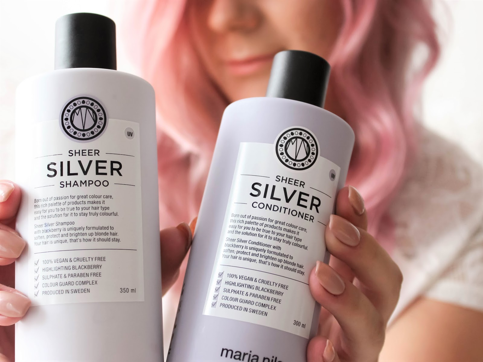 šampon a kondicionér sheer silver