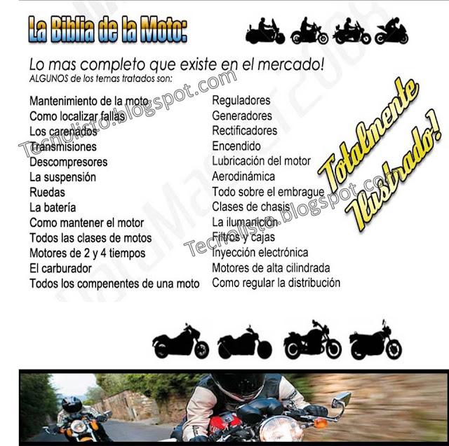 """Fichas técnicas de Mecánica de Motos"""