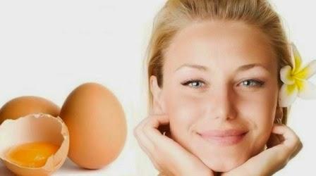 Telur untuk rambut indah