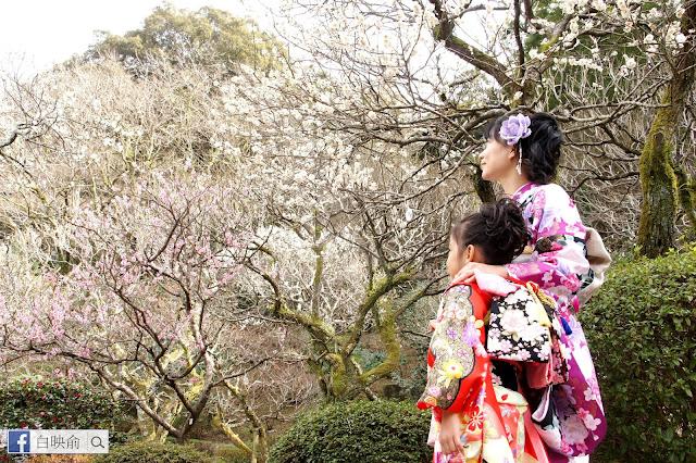 《日本九州自由行》福岡二日市太宰府 媽媽+小孩的和服體驗 饗樂生活誌