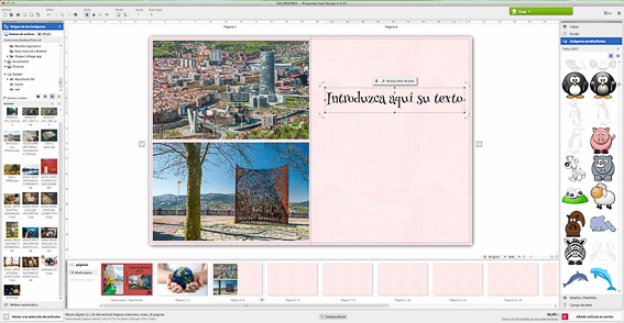Saal Design-texto e imagenes