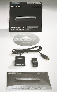 Medialink- 150Mbps Wireless N USB Adapter - 802.11n, 2.4ghz, Windows 2000 / 2003 / XP 32-Bit and 64-Bit / Vista 32-Bit and 64-Bit / Windows 7 32-Bit and 64-Bit Compatible