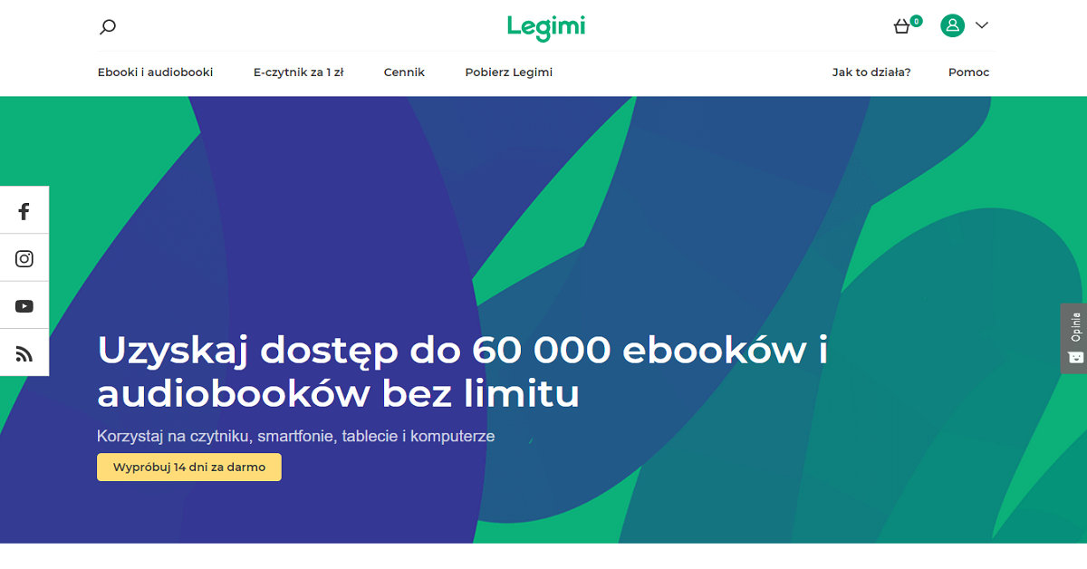 Nowa strona Legimi.pl