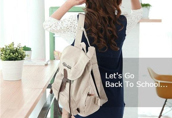 Model Tas Backpack Wanita Untuk Sekolah