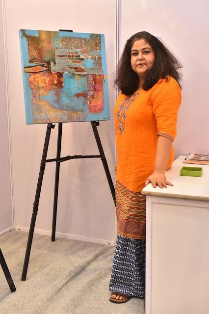 Artist Nupur Chaube