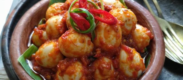 Cara Membuat Resep Telur Puyuh Balado Pedas - naresep.com