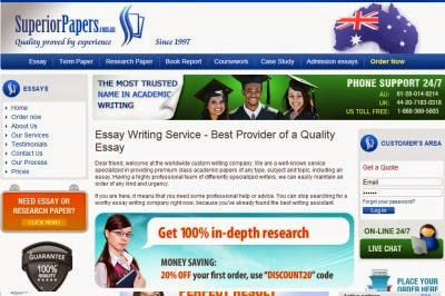 AUSuperiorPapers.com Essay Writing Service Picture