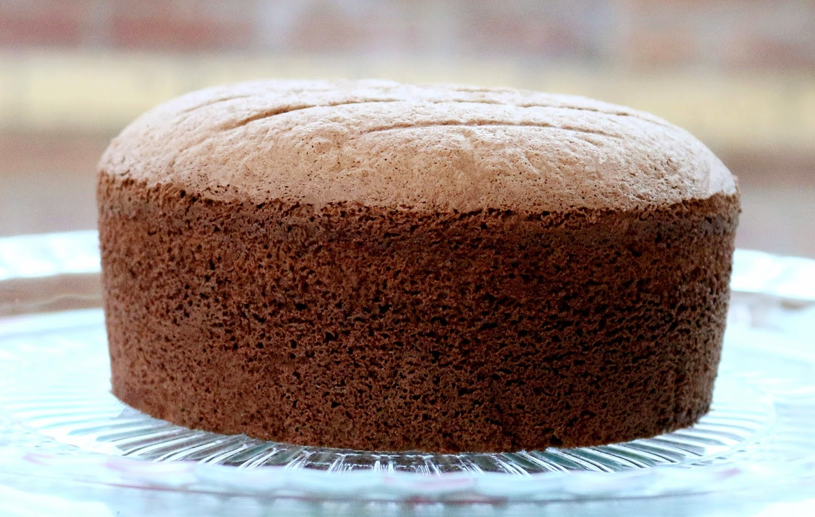 Inch Deep Chocolate Sponge Cake Recipe