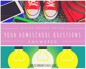 wading through the fog: Your homeschool questions answered over on a Muslim HomeSchool