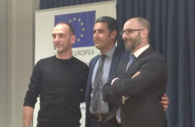 Bruno Moioli, Fran Leal y Francisco Naranjo