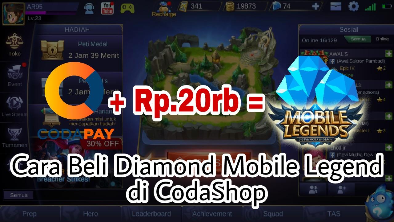 Cara beli diamond mobile legends di codashop cara beli diamod mobile legends di codashop stopboris Images