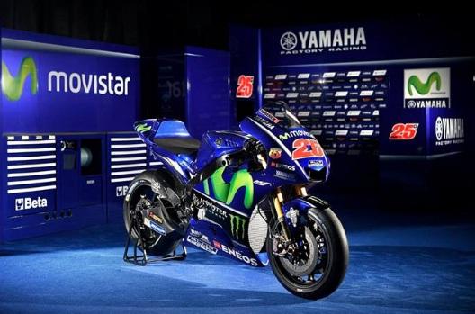 Yamaha YZR M1 2017 Terbaru
