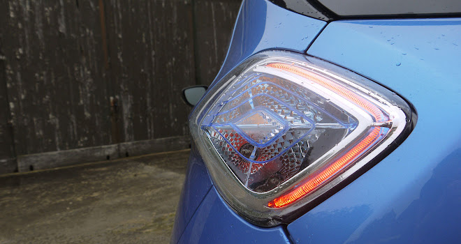 Renault Zoe 40 rear lamps