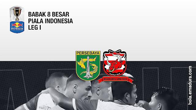 Tiket persebaya vs madura united 8 besar piala indonesia
