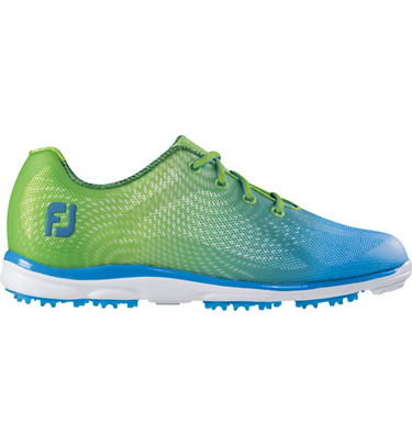FootJoy Women's emPOWER Spikeless Golf Shoes - Lime/Blue