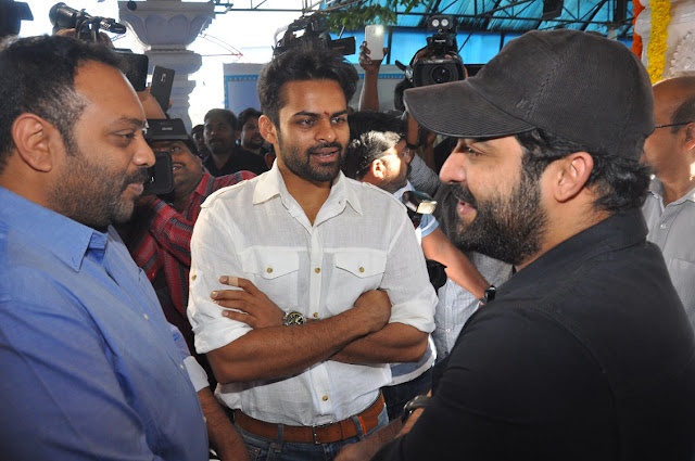 sai dharam tej movie jawaan launch photos