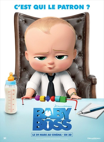 The Boss Baby 2017 English 720p WEB-DL 800MB ESubs