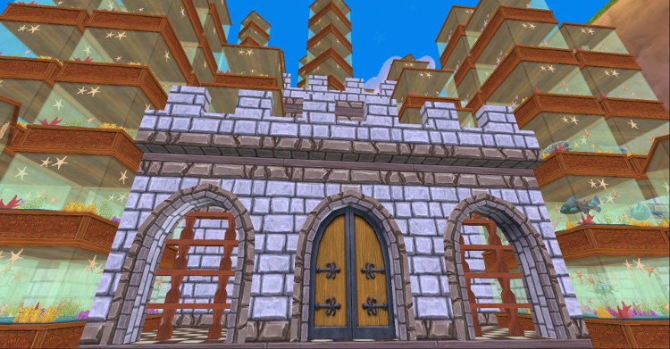Wizard101 Fish Tanks Castle