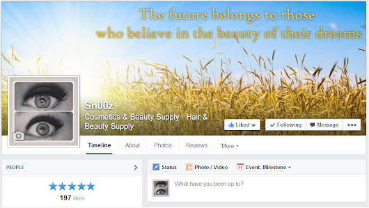 I Have a Facebook Page!
