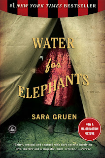 WATER FOR ELEPHANTS - BOOK COVER