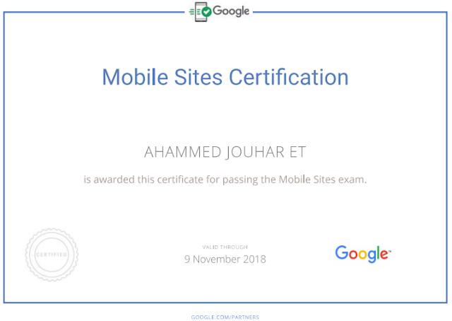 aj certificate
