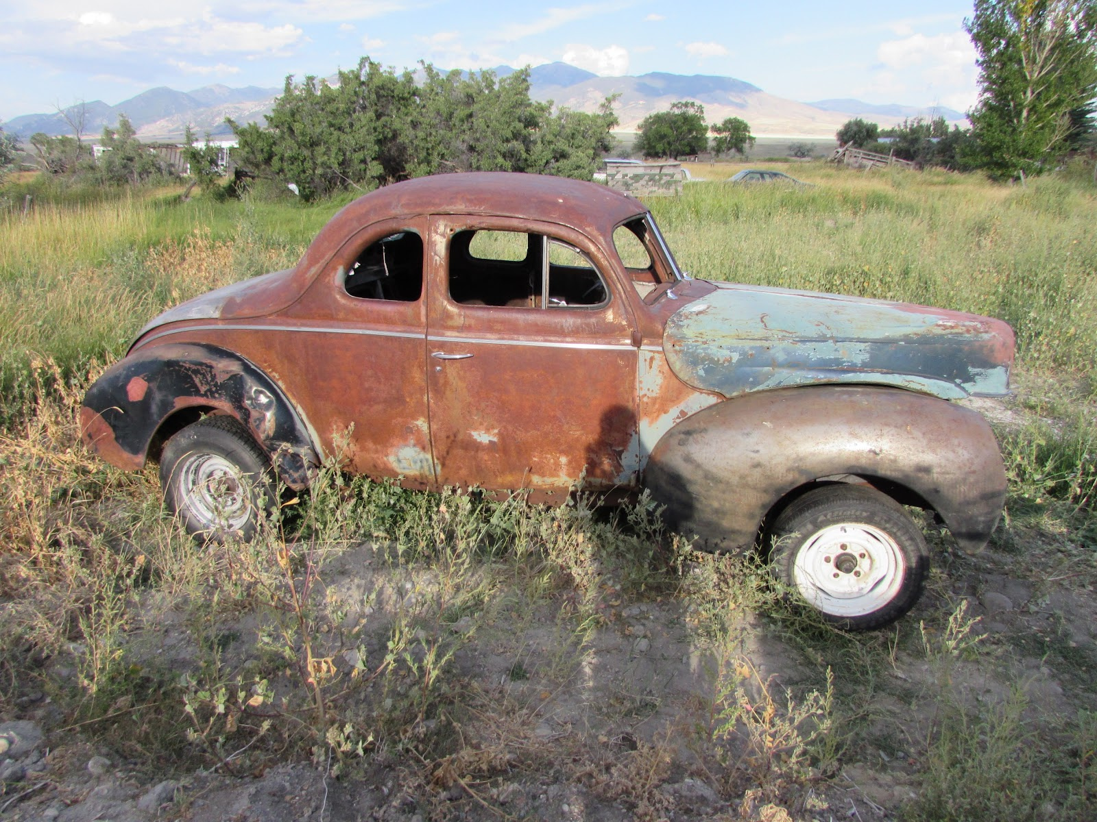 Reel Rods Inc For Sale 1940 Ford Deluxe Opera Coupe Project