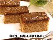 Jednoduchý orechový koláč - recept