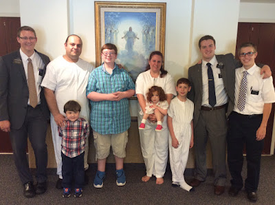 Baptism Of The Pabkin Family!